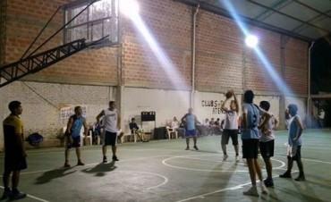Segunda noche de Basquet en Club Ateneo
