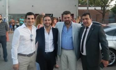 Chapino se reunió con el Ministro Benedetto para gestiornar las obras que Federal necesita