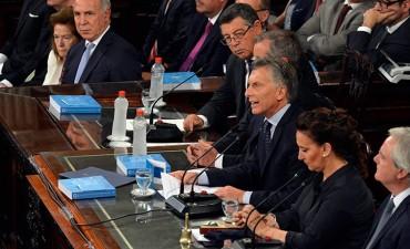 Macri dijo que se superó