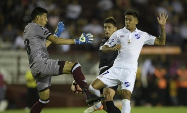 Copa Libertadores: Lanús tropezó en su debut con Nacional
