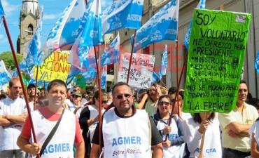 AGMER convocó al paro nacional definido por CTERA