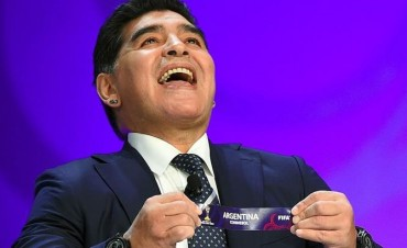 La suerte quiso que Maradona ponga al Sub 20 en el grupo de la muerte