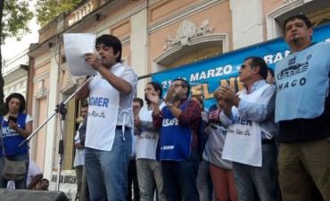 Docentes de seis provincias exigieron en Paraná la paritaria nacional
