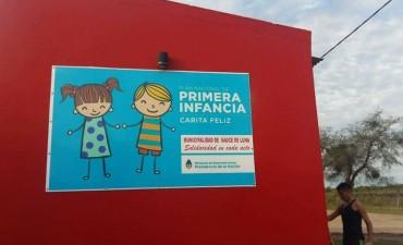 Visita de funcionarios del Programa Primera Infancia del Ministerio de Desarrollo Social de la Nación a Sauce de Luna