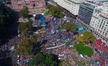 Memoria: Se conmemoró el 24 de Marzo con mensajes contra el Gobierno