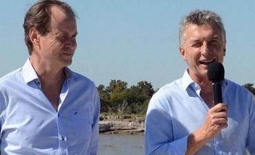 Bordet está con Macri en Holanda