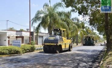 Programa de re asfaltado de calles