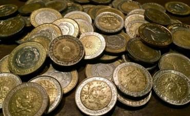 El colmo de la inflación, en las monedas de un peso