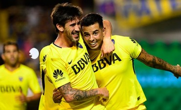 Boca logró una agónica victoria frente a Tigre en La Bombonera