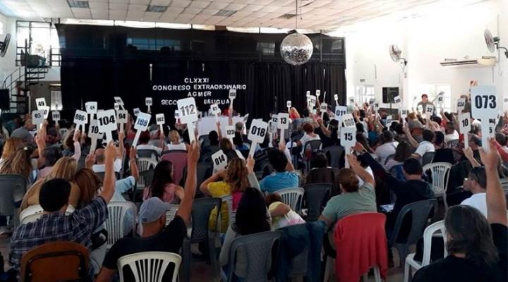 Agmer rechazó la oferta salarial del gobierno: anunció medidas de fuerza