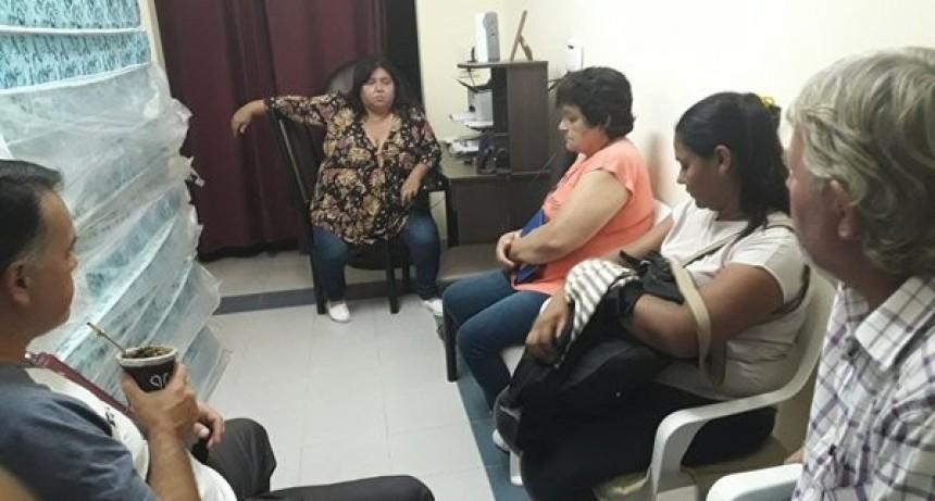 Trabajo institucional entre la Liga de Fútbol y la Senadora Nancy Miranda