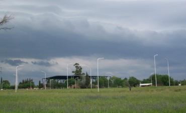 Esta vigente un alerta por tormentas fuertes y lluvias