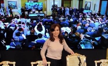 Cristina anunció un proyecto para combatir la precarización laboral