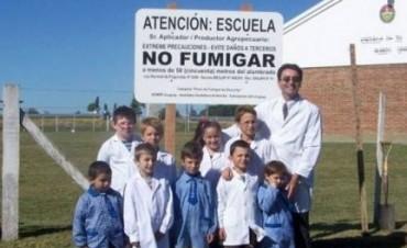 Un informe da a conocer  que escuelas rurales entrerrianas fueron fumigadas con agroquímicos