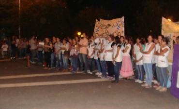 Vigilia por el 2 de Abril en Plaza Urquiza