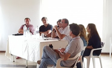 En C,Bernardi presentaron el Programa Proderi