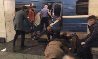 Rusia en alerta: atentado en el metro de San Petersburgo dejó al menos 10 muertos