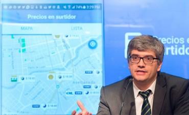 Bajan nafta y gasolil: Los precios se podrán comparar desde el celular