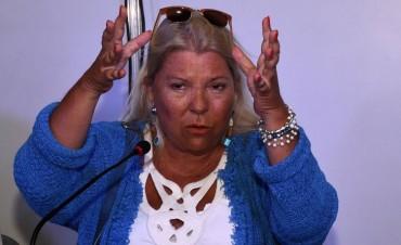 Carrió presentó el pédido de juicio político a Lorenzetti
