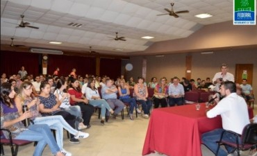 SE PRESENTÓ EL PROGRAMA CRECER EN FEDERAL
