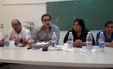 El Director del Hospital Urquiza Dr Sergio Duarte presento sus primeros 4 meses de gestión.