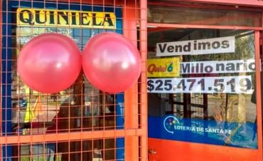 Acertó los seis números del Quini y ganó más de 25 millones de pesos