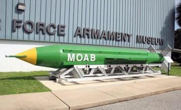 Así funciona la GBU-43, la bomba no nuclear más poderosa del mundo