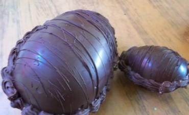Huevos artesanales: Una dulce opción con sabor a chocolate