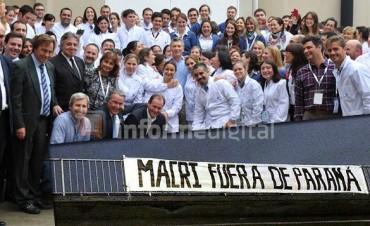Lo que dejó el viaje relámpago de Macri a Paraná