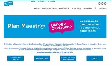 Macri convocó a la ciudadanía a participar del debate educativo