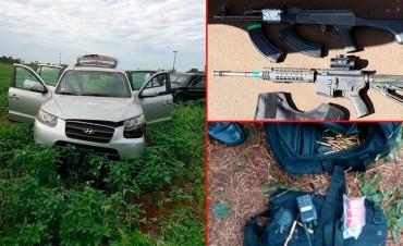 Asalto en Paraguay: Tres muertos y cuatro detenidos tras persecución y tiroteo
