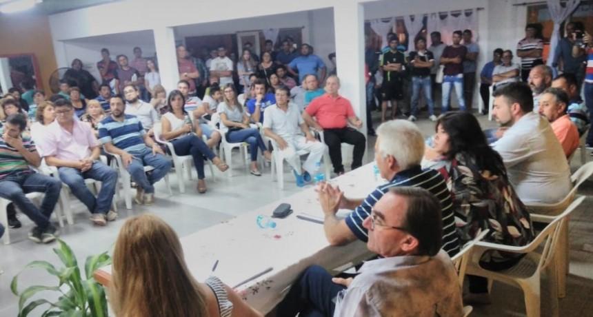 El peronismo de Federal se reunió para tratar problemáticas que afectan al Departamento .