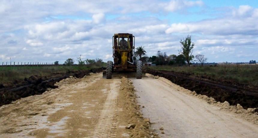 Se realizan trabajos de mejoramiento en la ruta 20, desde Villaguay a Federal