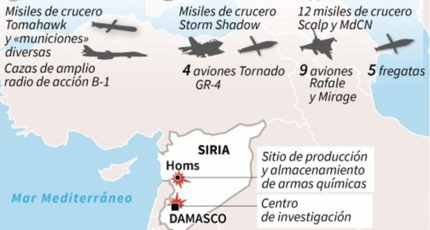 Seis respuestas para entender el ataque a Siria