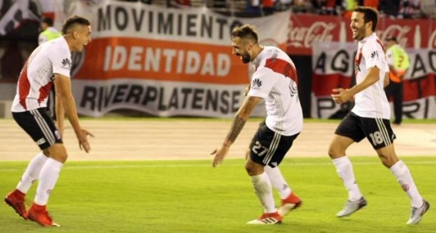 River no para de ganar: logró su quinto triunfo consecutivo y se esperanza con la Libertadores