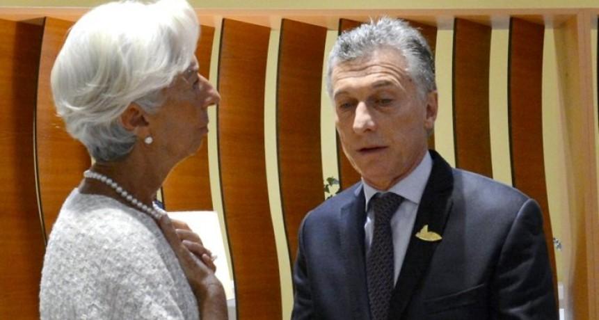 El FMI proyecta menos crecimiento para la Argentina pero pide más ajuste