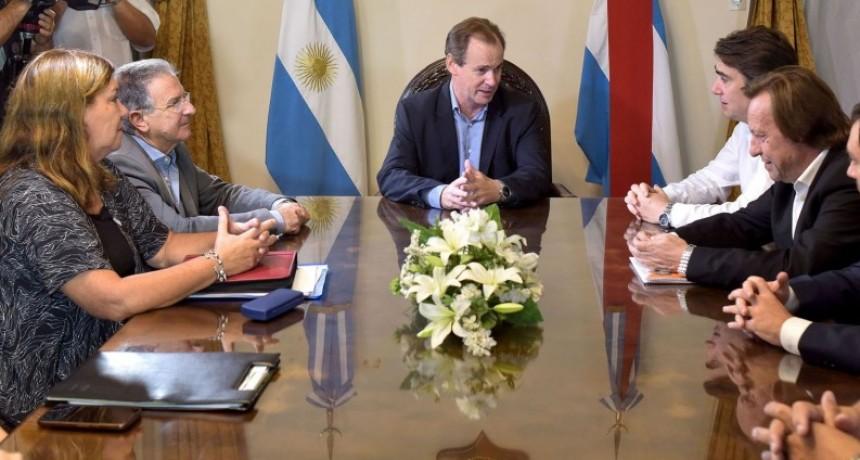 Bordet repasó con el titular de Vialidad Nacional las obras cofinanciadas con Nación que se ejecutan en Entre Ríos