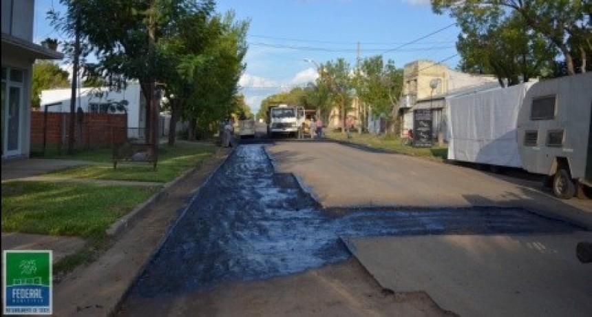 Se extiende el bacheo en Calle Mitre