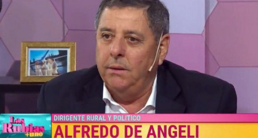 Desde Twitter, De Angeli le mandó un mensaje a Bordet