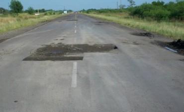 A punto de comenzar la obra de reparación total de la ruta provincial N° 6