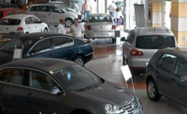 En abril se vendieron en Entre Ríos 800 autos menos que hace un año