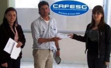 Capacitación en Federal para acceder a microcréditos de CAFESG