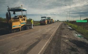 Comenzó la rehabilitación de la Ruta 6 desde la Ruta Nacional 127 hasta la Ruta 18