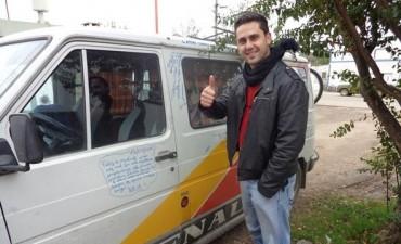Aldo Acosta y su viaje a Brasil para vivir la experiencia del Mundial