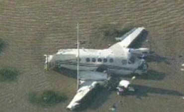 Avioneta caída en Río de la Plata: hay cinco muertos