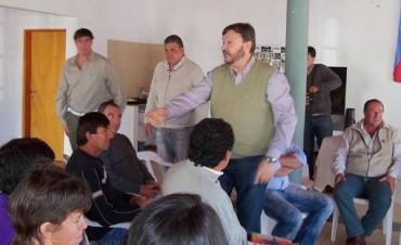 Jornada de trabajo en Bernardi con el Ministro de la Producción