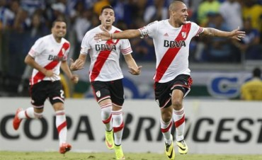 River logró la hazaña en Brasil: goleó 3 a 0 a Cruzeiro y avanzó a semifinales
