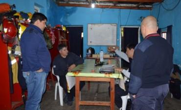 Federal fue punto de encuentro de los Bomberos Voluntarios de la región