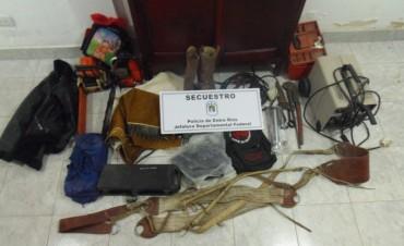 Por robo en establecimiento rural de Colonia La Lila fueron detenidos