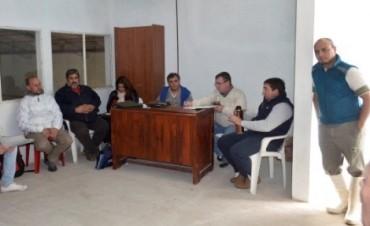 Encuentro de trabajo, Municipio , Productores Tamberos y Horticolas